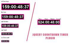 jQuery countdown Timer Plugin #jQuery #countdown #Timer #Plugin