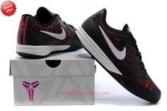 Mens 704942-600 Nike Kobe KB Mentality Black / white / red Online Outlet  ZO9TSI