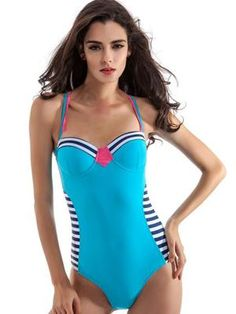 WATER PRINCESS-Pacific Blue Swimsuit