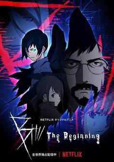 Netflix Original Anime B: The Beginning Anime Key Art