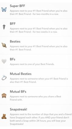 Snapchat Streak Emojis, Noms Snapchat, Cute Snapchat Names, Snapchat Best Friends, Snapchat Friend Emojis, Funny Nicknames For Friends, Friends Emoji, Snap Friends, Snapchat Story Questions