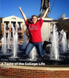 """Today's Friday Foodie is Felecia Payne of A Taste of College Life, a food blogger and university student who loves to cook for her family and friends.  Through her eyes you get to see her """"conquering college one day at a time.""""   Learn more about Felecia on the blog!"""