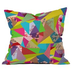 Found it at AllModern - Bianca Green Colorful Thoughts Throw Pillow