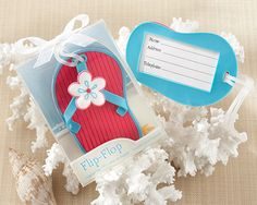 """Flip-Flop"" Beach-Themed Luggage Tag Sale Price: $2.21 (15% off)"