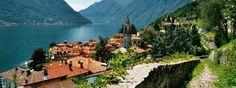 Green Way del lago di como walk - 10km  Colonno to Griante via the villages of Sala Comacina, Ossucio, Lenno and Mezzegra