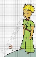 Cross Stitch *♥* Point de croix The Little Prince perler bead pattern Cross Stitching, Cross Stitch Embroidery, Cross Stitch Patterns, Cross Stitch Books, Cross Stitch Baby, Beading Patterns, Embroidery Patterns, Cactus Embroidery, Stitch Character