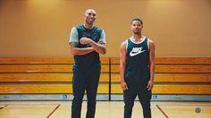 Kobe Bryant and actor Michael B. Jordan in a welcoming you in a video in NBA 2K17 MyCareer.
