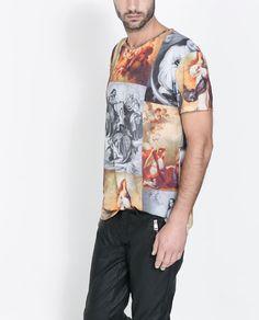 PHOTO PRINT T - SHIRT - T - shirts - Man   ZARA United States