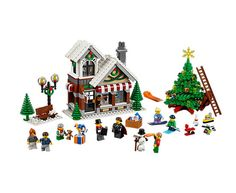 Winter Toy Shop | LEGO Shop