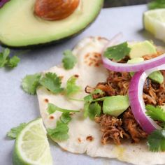 Bright citrus and a great blend of spices make these pork carnitas amazing! The slow cooker does all the work for you.