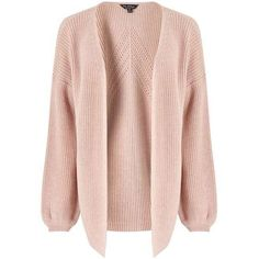 Pink Pointelle Knitted Cardigan ($44) ❤ liked on Polyvore featuring tops, cardigans, pink cardigan, pointelle cardigan, cardigan top, miss selfridge and miss selfridge tops