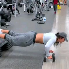 this chick is working it! Training for beginners Training plan Training video Training weightlifting Training women Training workout Fitness Workouts, Fitness Motivation, Fitness Goals, At Home Workouts, Fitness Tips, Health Fitness, Gym Routine, Strength Training, Training Plan