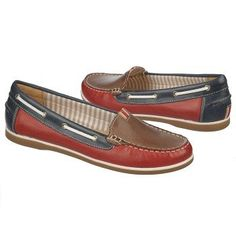 Women's Naturalizer Hanover Red/Taupe/Navy Lthr Naturalizer.com. Cute!!