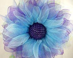 Guirnalda de la flor guirnalda de primavera por WonderfulWreathsKim