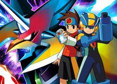 Falzar Main Art - Characters & Art - Mega Man Battle Network 6