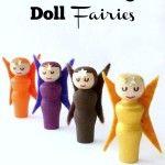 DIY Fall Peg Doll Fairies