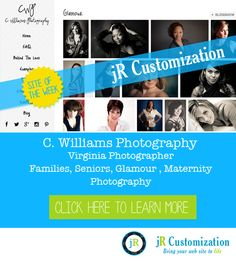 #SmugMug site of the week - C. Williams Photography - click to view more...