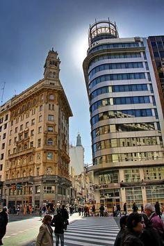 Esquinas de Buenos Aires. Diagonal Norte y Suipacha  Argentina Turismo Em Nosso Blog muito mais Informações http://storelatina.com/argentina/travelling   #viaje #ArgentinaTour #viajar #viajando