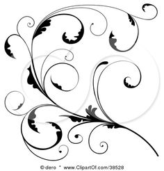 Google Image Result for http://images.clipartof.com/small/38528-Clipart-Illustration-Of-A-Delicate-Black-Floral-Scroll-Branch-With-Tendrils-And-Curly-Leaves.jpg