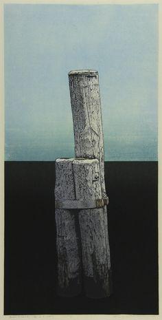 吉田 穂高 「杭・h・S (ルガノ)」 Hodaka Yoshida Woodblock Print, Print Artist, Printmaking, Fashion Art, Skyscraper, Concept Art, Abstract Art, Illustration Art, Photos
