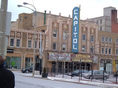 Places of my youth...Capitol Theater, Downtown Flint, MI