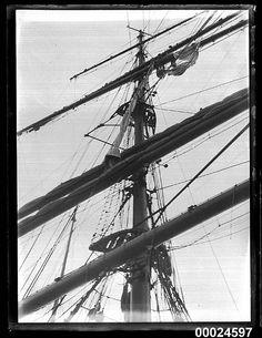 Mast of MAGDALENE VINNEN, 1933 | Flickr - Photo Sharing!