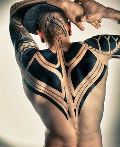 Traditional Tribal Tattoo