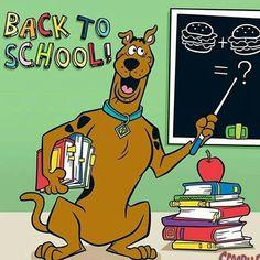 Scooby Doo back to school