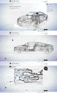 Audi #onemillionreasons, 25 October 2013. http://www.awwwards.com/web-design-awards/audi-onemillionreasons   #WebInteractive #Clean #HTML5 #SocialMedia #WebGL
