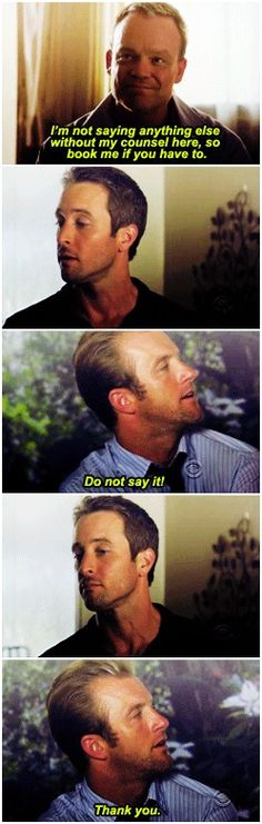HOW CAN YOU DENY THAT FACE DANNY  HOW CAN YOU DO THAT AFTER HE *LIT UP LIKE A SUNRISE*  alex o'loughlin  scott caan  hawaii five-0  H50: 1x11