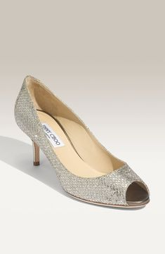 These sparkly Jimmy Choo pumps are on the wish list.