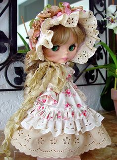 Blythe Blythe Victorian Regency Blythe clothes by TheDollsDresser, $79.00