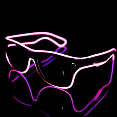 Light Up EL Wire Sunglasses is best for your party favor