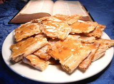 Unleavened Bread - Remember Jesus on Easter by sharing the Lord's Supper with this UNLEAVENED BREAD RECIPE or teach your children about baking bread in Bible times.  This recipe is really good.