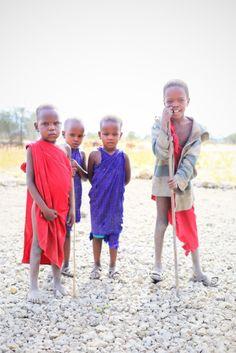 Masai Village Boys