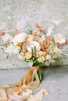 peach and yellow wedding bouquet, summer wedding colors bouquets august Kerry Jeanne Yellow Wedding Flowers, Summer Wedding Bouquets, Summer Wedding Colors, Peach Flowers, Bridal Flowers, Flower Bouquet Wedding, Floral Wedding, Yellow Weddings, Bridal Bouquets