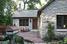 CURB APPEAL – another great example of beautiful design. The Gatehouse with a traditional exterior near minneapolis by Murphy & Co. Design.