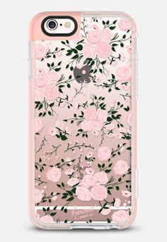 PINK FLORAL ROSES by Harvest Paper Co. iPhone 6s case by Harvest Paper Co. | Casetify