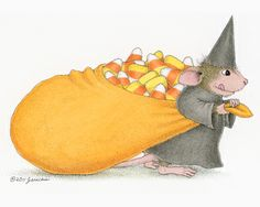 """Mudpie from House-Mouse Designs featured on the The Daily Squeek® for October 14th, 2013. Click on the image to see it on a bunch of really """"Mice"""" products."""
