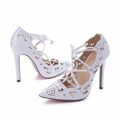 3bc2dc4047fe7e WEIQIAONA 2019 New Big Size 35-43 Women Shoes Pumps Gold and White Heels  Sexy