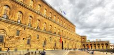 The third and last official residence of the Medici in Florence is the grandiose Palazzo Pitti.