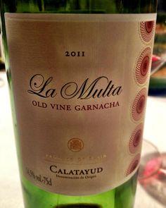 El Alma del Vino.: El Escocés Volante La Multa Old Vine Garnacha 2011.