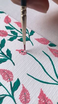 Gouache Painting, Diy Painting, Simple Flower Painting, Flower Art Drawing, Simple Canvas Paintings, Mini Canvas Art, Art Drawings Sketches Simple, Art Lessons, Watercolor Art