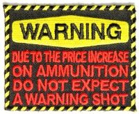 Do Not Expect Warning Shot Funny Patch