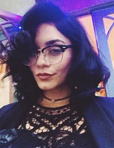 Vanessa Hudgens wearing Ray-Ban Clubmaster Glasses | SelectSpecs