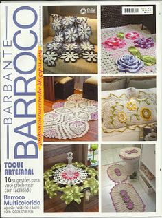 Josi Artesanatos: Revista Barbante Barroco Nº 1 (Portal Do Artesanato)