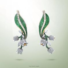 Van Cleef & Arpels wishes you luck for the coming year with the Muguet…