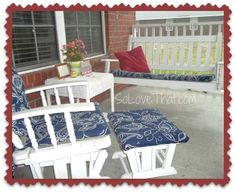3 different ideas on how to cover your patio cushions