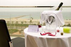 Hotel Front Maritim Habitaciones delante del mar Mediterráneo