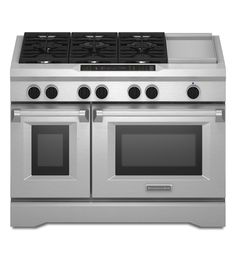 Commercial-style stove